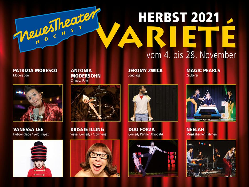 VARIETÉ HERBST 2021