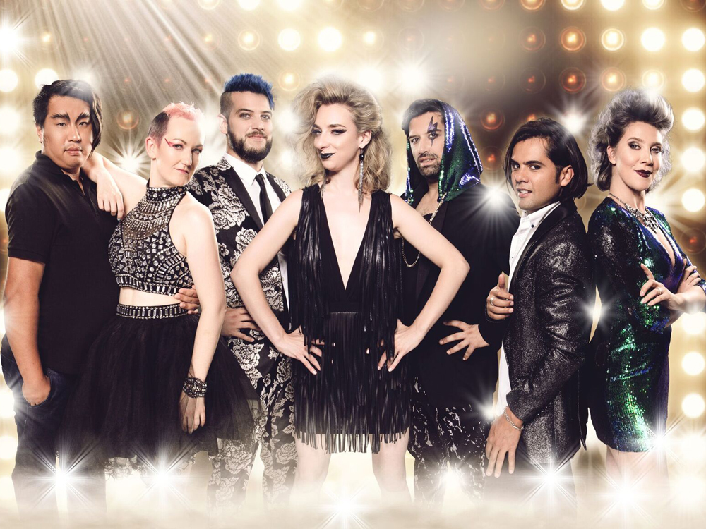 "THE CAST ""Die Rockstars der Oper"""