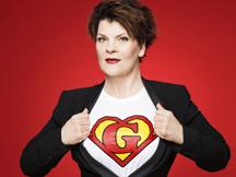 """GAYLE TUFTS """"Superwoman"""" Ersatzspielort NTH Saal freie Platzwahl"""